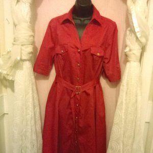 Fuschia Day Dress